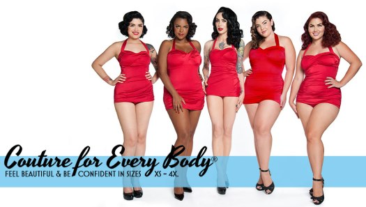 Couture for Every Body Campaign Pinupgirlclothing